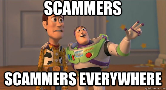 Scammers Everywhere