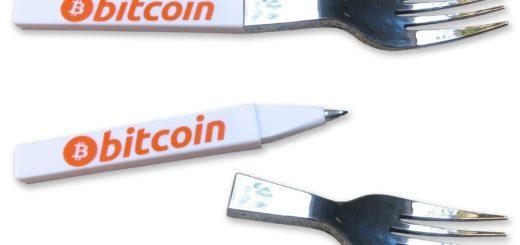 Bitcoin Fork Pen